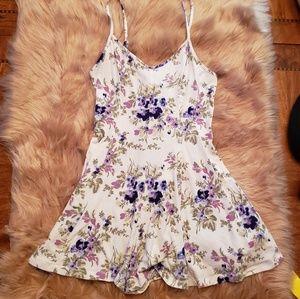 🎄 Kimchi Blue ROMPER Dress Floral